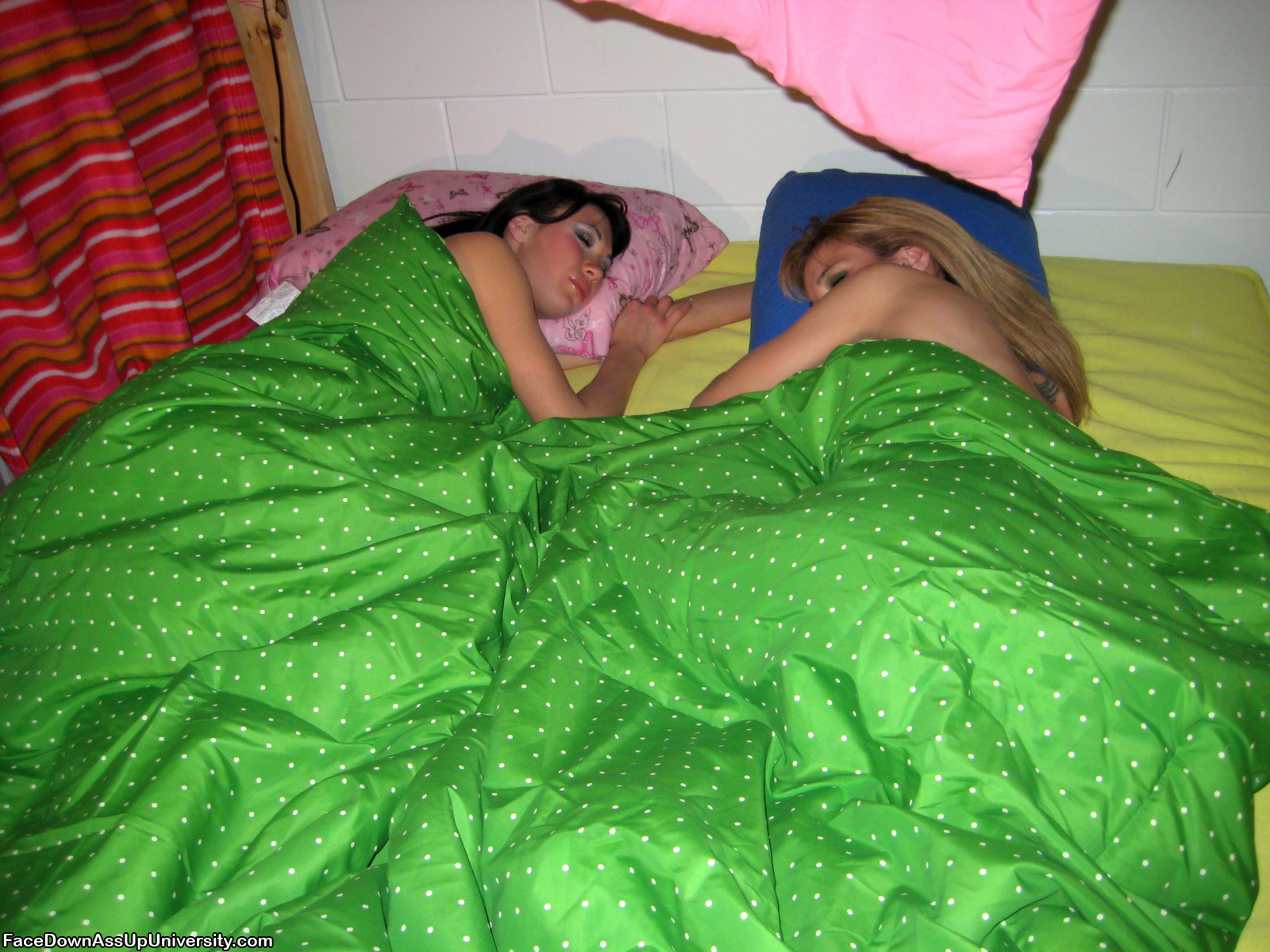 Innocent Sleepover Turns Into Nasty Lesbian Fantasy -3739