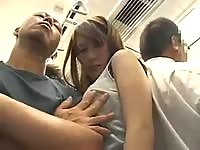 Big Boobs Asian Girl Molested On A Train
