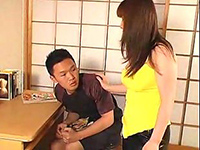 Sexy japanese eating pussy