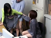 Shoplifted Schoolgirl With Mother Must Fuck To Save Their Lives