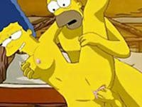 Marge and homer have sex