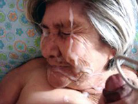 Granny jizz
