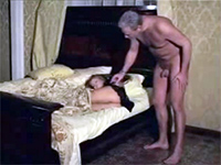 Late At Night Naked Dad Sneaks Bedroom Of Barely Legal Teen Girl