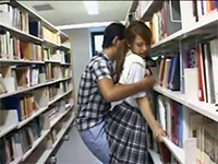 Japanese Girl Groped And Fucked In Public Library