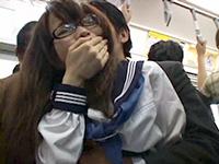 Crazy Maniac Attacked Teen Schoolgirl In Public Train