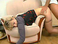 Hypnotized Mom In Pantyhose Fucked As She Sleeps