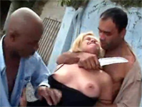 Two Brazilian Gang Members Knife Threats Poor Woman For A Piece Of Pussy