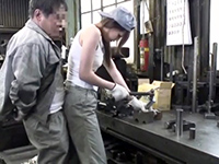 Japanese Girl Was Unable To Prevent Sexual Harassment In Factory