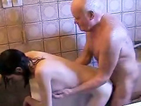 Filthy Grandpa Gets A Taste Of Fresh Young Pussy
