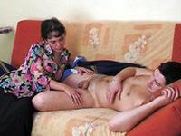 Mommy Took Advantage Of Daughter's Sleeping Boyfriend