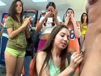 College Girls Totally Lost Their Minds When Saw Big Cock