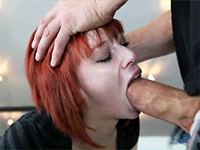 Horny Redhead Teen Wants All Holes Filled