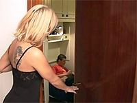 Boy Had No Chance Against Seductive Mature Step Mom