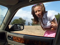 Teen Girl Regret For Asking Stranger For A Ride