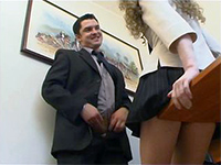Horny Boss Attack His Secretary In The Office