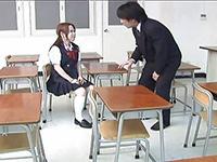Pervert Teacher Convinced Naive Schoolgirl Into Some Dirty Games