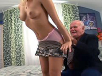 Nasty grandpa fucks your girls