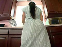 Busty Latina Maid Is Boy's Biggest Sexual Fantasy