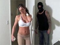 Masked Burglar Chloroformed Hot Milf So He Could Fuck Her Without A Struggle