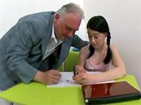 Filthy Professor Like To Exploit His Teen Schoolgirls