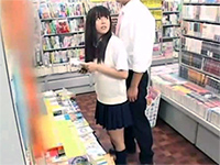 Asian Schoolgirl In Mini Skirt Gets Abused In The Bookstore