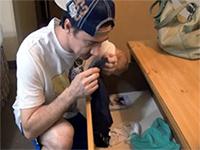Boy Caught Sniffing Mom's Panties