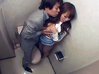 Crazy Boss Followed His Secretary Into Toilet