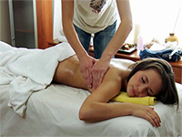 Cute Young Girl In The Hands Of A Pervert Masseur
