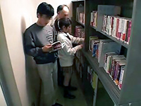 Japanese Girl Didn't Expect To Be Groped In Public Library