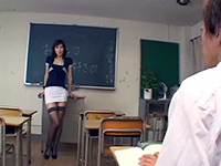 Chinese Teacher Gives An Extra Lesson