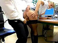 Real Amateur Secretary Fucked At The Office