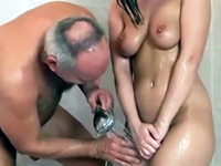 Dirty Older Man Wants To Shower Together