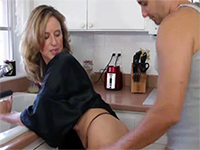 Naughty mom son porn