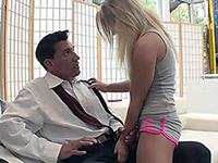 Teen Girl Knows How To Get What She Wants From Daddy