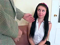 Teen Schoolgirl Picked Wrong Private Teacher