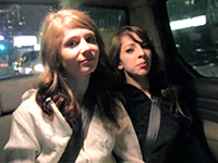 Amateur Girls Fooled By A Taxi Driver To Show Off Their Boobs