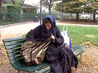 Homeless Woman Will Fuck For Food