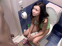 Japanese forced sex in toilet video
