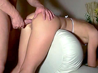 Drunk Amateur Girlfriend Bend Over For Her Boyfriend