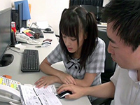 Japanese Teen Girl Seduce Her Computer Teacher