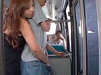 Japanese forced sex in bus