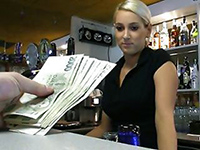 Stunning Czech Bartender Is Paid To Take A Sex Break At Work