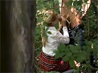 Teen Classmates Caught Fucking In The Forest