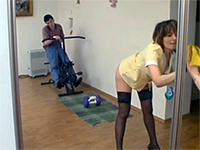 madame watches maid masturbate movies