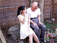 Dirty Old Man Seduced His Neighbor's Beautiful Daughter