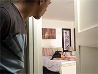 Perv Boy Sneaks In Gfs Moms Bedroom While She Slept