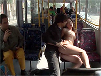 Cheating Girlfriend Gets Disgraced In Public Bus