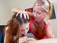 Moms Teach Teen Blowjob Video