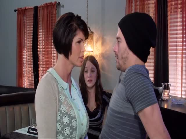 Slutty Mom Fucks Her Daughter's Boyfriend In Front Of Her Eyes