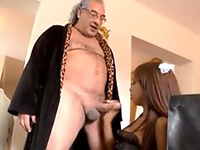 Sexy Maid Sexually Used By Dirty Old Boss